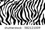 pattern texture tiger zebra... | Shutterstock .eps vector #582121009