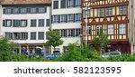 strasbourg  france   july 24...   Shutterstock . vector #582123595