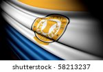 flag of san jose  usa  | Shutterstock . vector #58213237