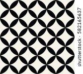 abstract geometric arabic... | Shutterstock .eps vector #582165637