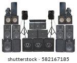 big group of old industrial...   Shutterstock . vector #582167185