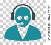 support operator vector... | Shutterstock .eps vector #582179794