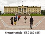 oslo  norway   august 28  the... | Shutterstock . vector #582189685
