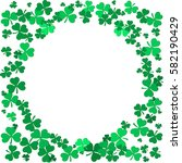 st patrick's day background... | Shutterstock .eps vector #582190429