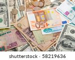 Collection Of Various Money To...