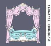 vector illustration of baroque...   Shutterstock .eps vector #582198961