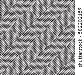 vector seamless pattern ... | Shutterstock .eps vector #582202159