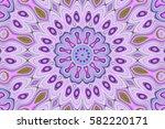 modern floral pattern.... | Shutterstock . vector #582220171