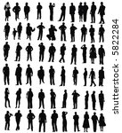 people   Shutterstock .eps vector #5822284
