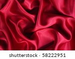 smooth elegant red silk can use ... | Shutterstock . vector #58222951