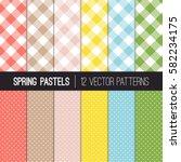 Spring Pastel Colors Pixel...