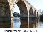 Stone Arch Bridge And The...