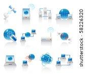 internet icons | Shutterstock .eps vector #58226320