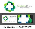 plus sign medical healthcare... | Shutterstock .eps vector #582275587
