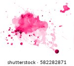 colorful abstract watercolor... | Shutterstock .eps vector #582282871