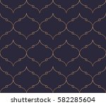 vector seamless pattern with... | Shutterstock .eps vector #582285604