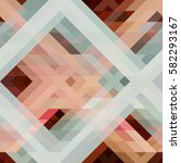 abstract triangle texture.... | Shutterstock .eps vector #582293167