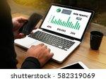 web traffic  business ...   Shutterstock . vector #582319069