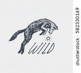 vintage old logo or badge ...   Shutterstock .eps vector #582330169