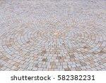 duotone yellow and gray brick... | Shutterstock . vector #582382231
