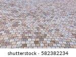 duotone yellow and gray brick... | Shutterstock . vector #582382234