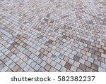 duotone yellow and gray brick... | Shutterstock . vector #582382237