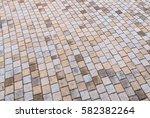 duotone yellow and gray brick... | Shutterstock . vector #582382264