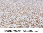 duotone yellow and gray brick... | Shutterstock . vector #582382267