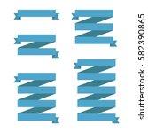 vector illustration of set of... | Shutterstock .eps vector #582390865