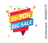 vector sale background  banner... | Shutterstock .eps vector #582402775
