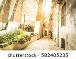 Medieval Narrow Street In The...