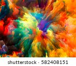 color explosion series.... | Shutterstock . vector #582408151