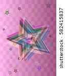 star texture design | Shutterstock .eps vector #582415837
