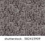 seamless cartoon pattern  made ... | Shutterstock . vector #582415909