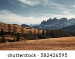 beautiful mountain landscape....   Shutterstock . vector #582426595