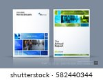 business vector template.... | Shutterstock .eps vector #582440344