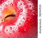 Red Apple  Macro