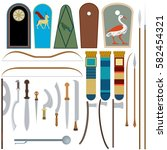 Collection Of Egyptian Weapons...