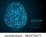 abstract illustration of human... | Shutterstock .eps vector #582470677