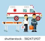 Medicine Ambulance Concept In...