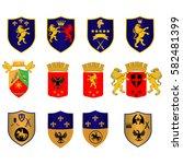 retro vintage insignias. vector ...   Shutterstock .eps vector #582481399