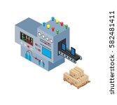 process web development site...   Shutterstock .eps vector #582481411