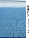 Blue Tiles Pool  Water Waves...