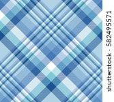 seamless tartan plaid pattern.... | Shutterstock .eps vector #582495571