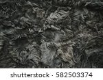 Gray Fur For Background