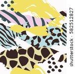 Trendy Seamless Exotic Pattern...