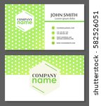 business card template.... | Shutterstock .eps vector #582526051