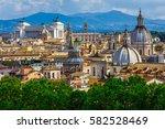 Skyline Of Rome  Italy. Rome...