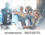 Group Of Young Entrepreneurs I...