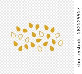 Icon  Of Oil Seeds. Vector....